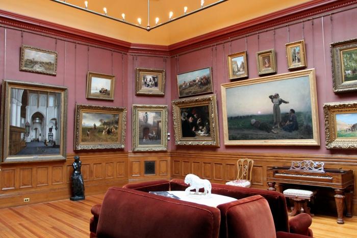 Elmira Arnot Art Museum gallery