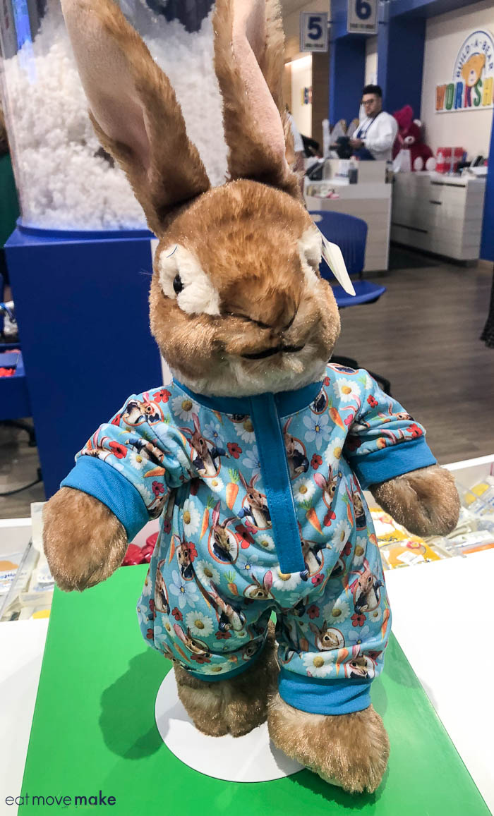 Peter Rabbit pajamas Build a Bear