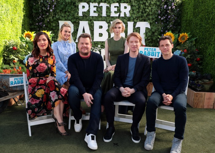 Peter Rabbit film cast