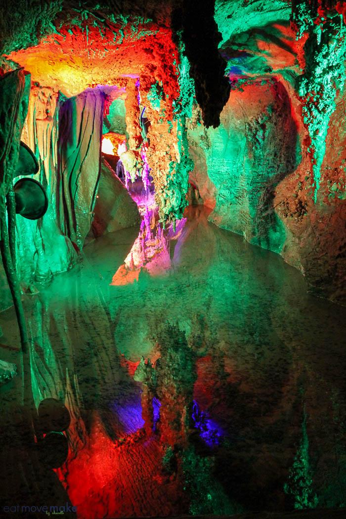 Rainbow Lake - Shenandoah Caverns