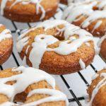 Carrot Cake Donuts #EasterSweetsWeek