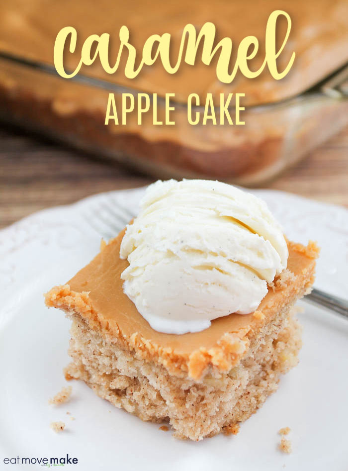 best caramel apple cake recipe