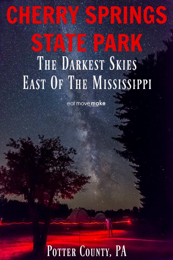 dark skies cherry springs state park