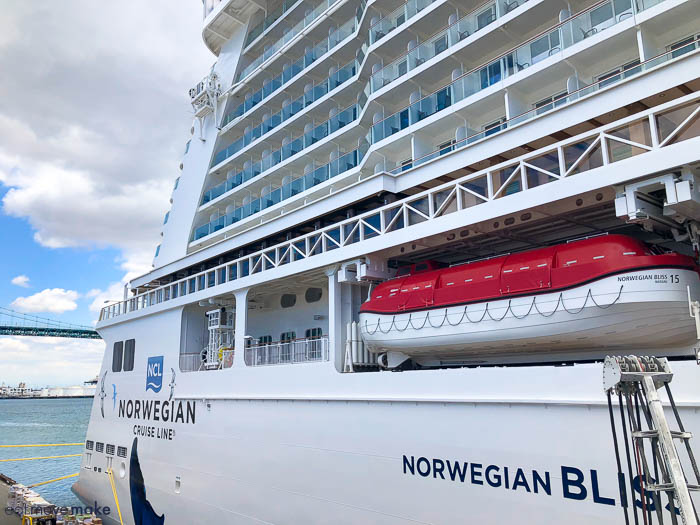 Norwegian Bliss exterior