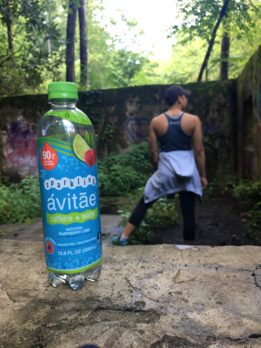 Avitae caffeinated water Catawba Falls