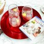 Raspberry Whiskey Seduction Cocktail for Girls' Night In With #BookClub