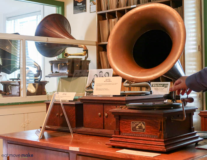 listening to a Victrola