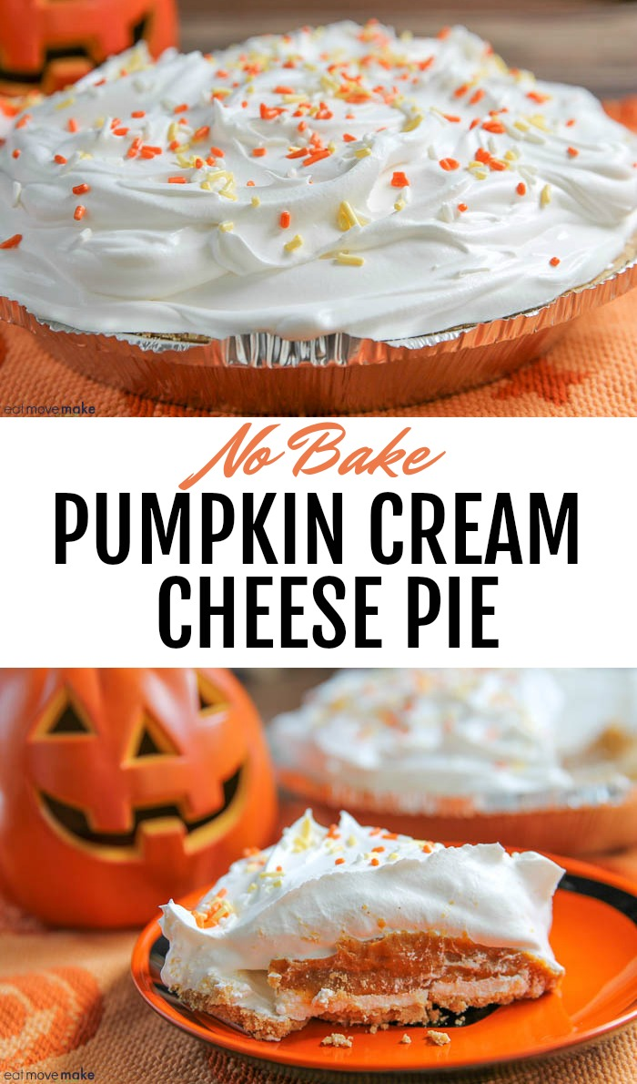 no bake pumpkin cream cheese pie