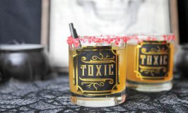 Toxic Tumbler Halloween Drinks (Strong Mixed Drinks for Whiskey Lovers)