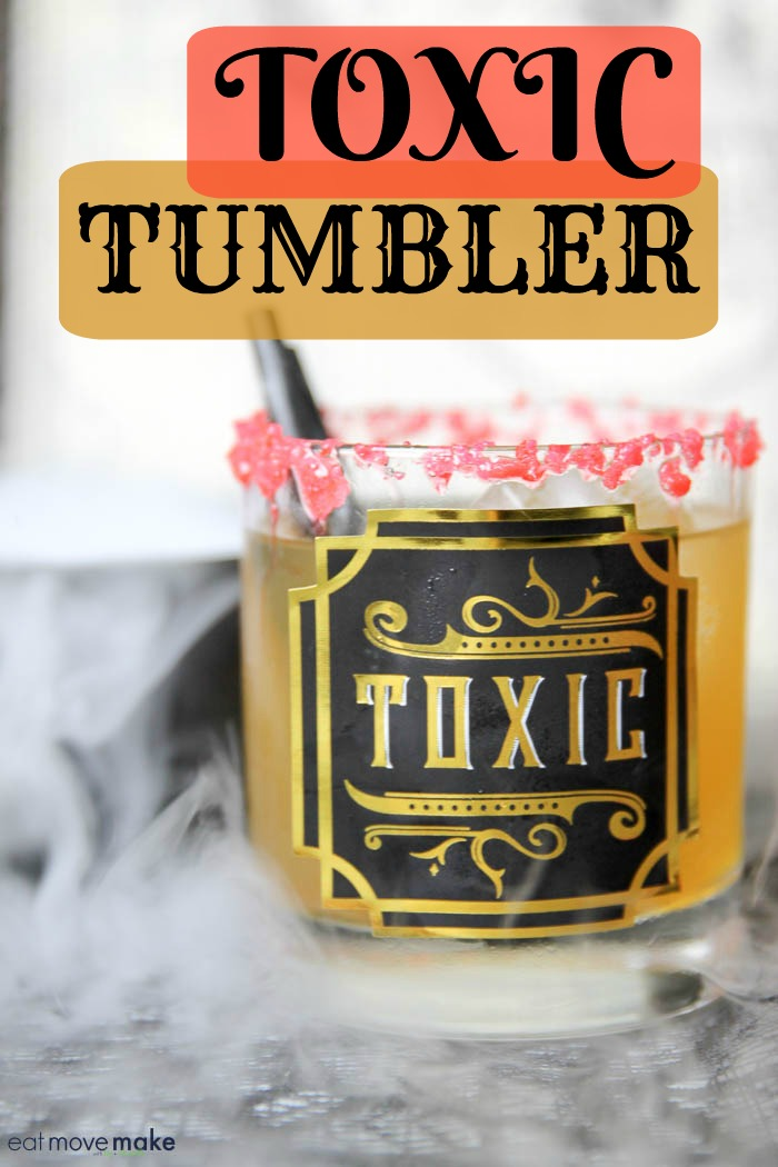 Toxic Tumbler Halloween drinks - strong mixed drinks