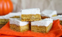 Pumpkin Cookie Bars #PumpkinWeek