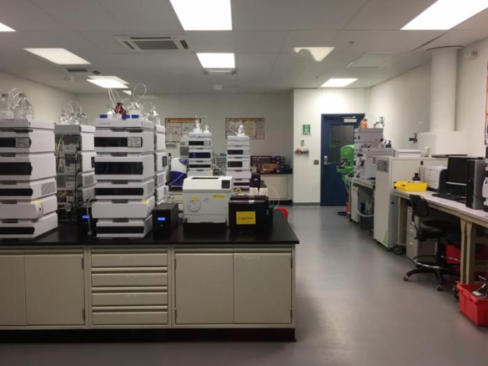 NOW Foods lab