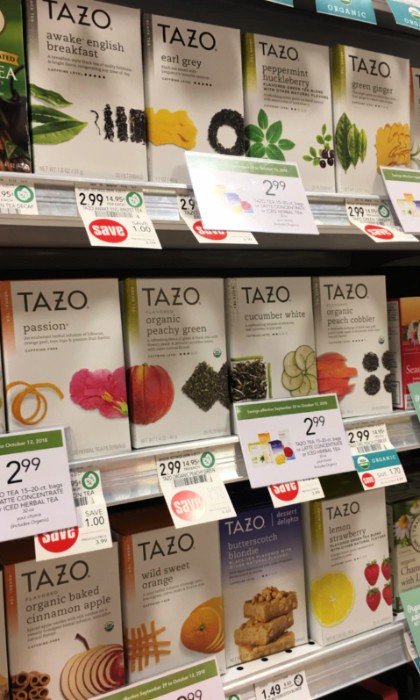 Tazo Tea at Publix