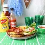 Frank's® Redhot Bacon Cheeseburger for the Ultimate HomeGate Party
