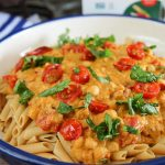 Penne Pasta with Pumpkin Pasta Sauce