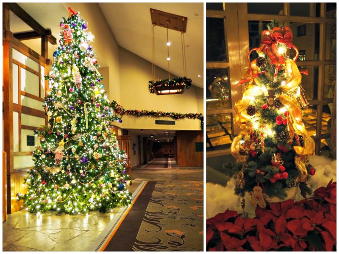 Omni Grove Park Inn Christmas trees