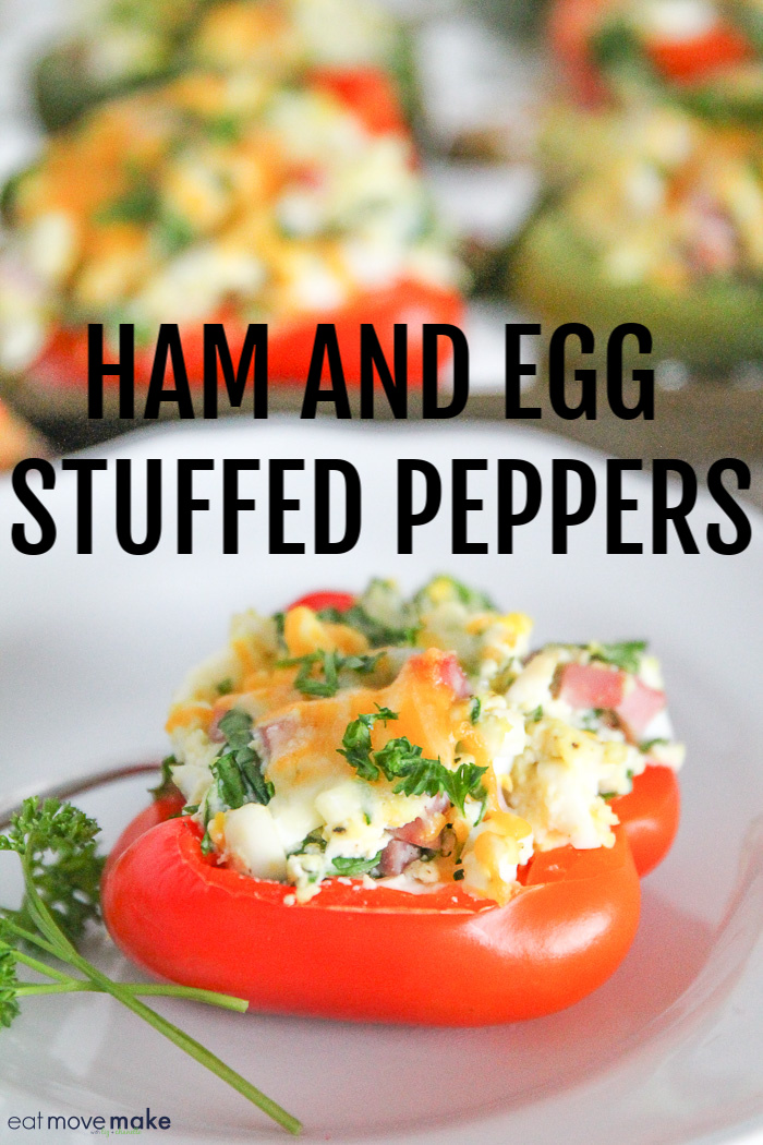 ham and egg stuffed peppers recipe