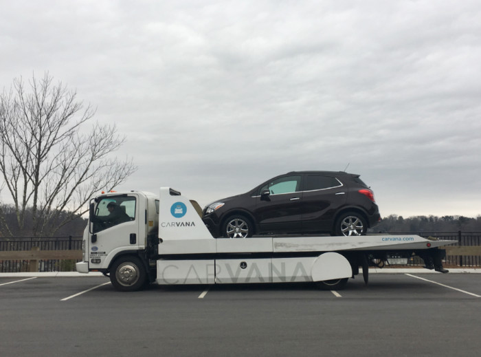 Purchasing Buick Encore Carvana