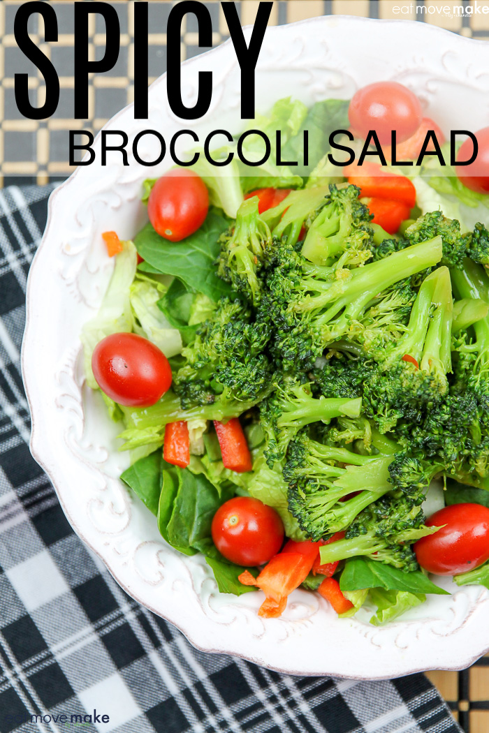 spicy broccoli salad