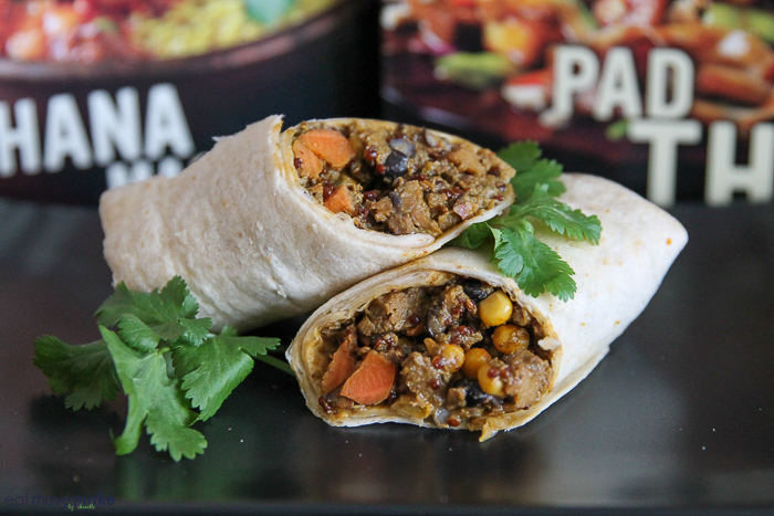 Sweet Earth Easy Plant-Based Meals Peruvian Burrito