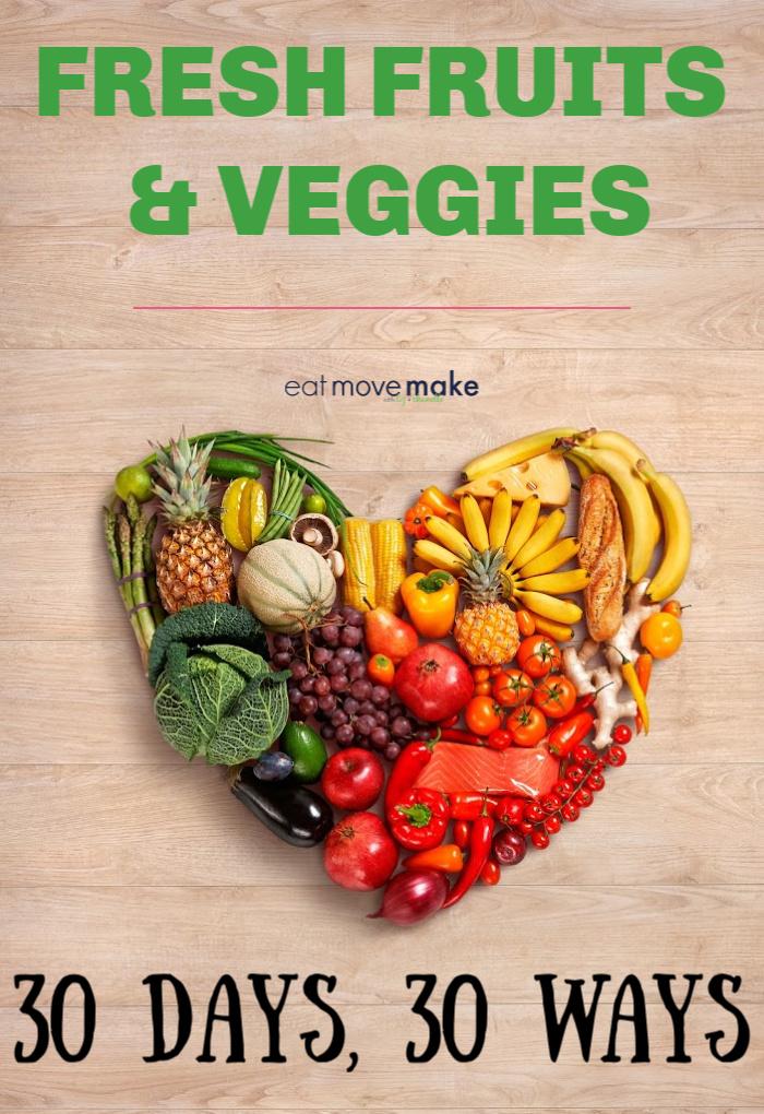 Food Lion Fresh Fruits and Veggies - 30 Days, 30 Ways ...