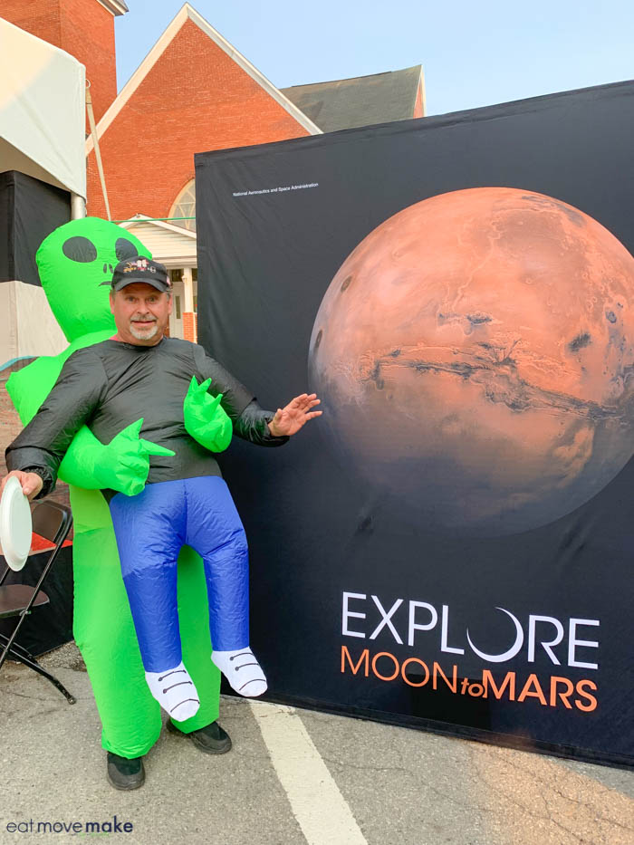 Mars Exploration Days costume contest - Mars Days