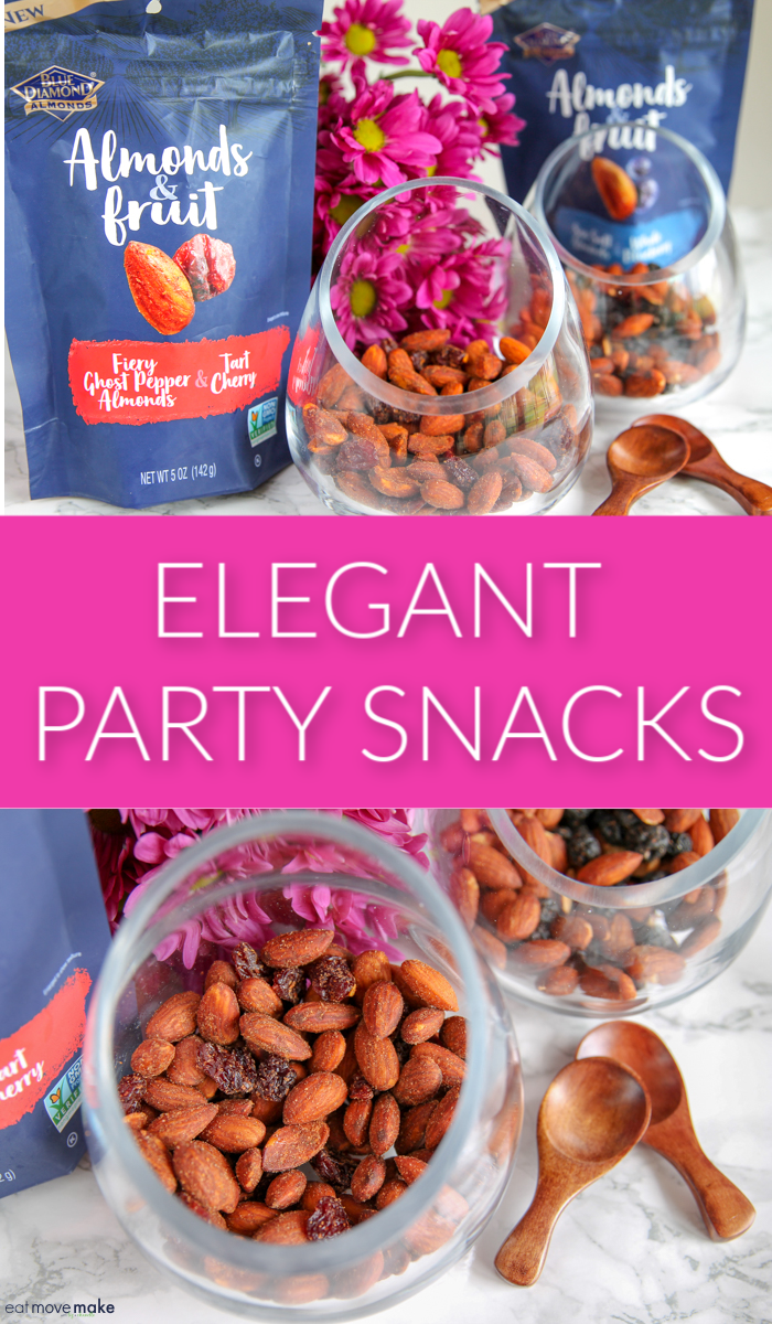 elegant party snacks