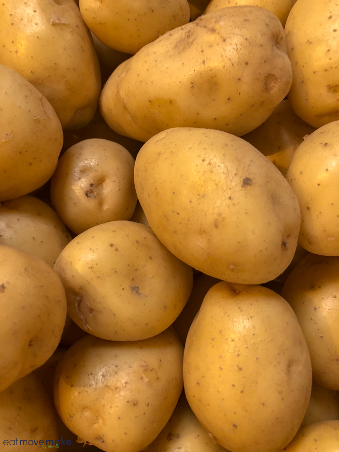North Carolina farms - potatoes