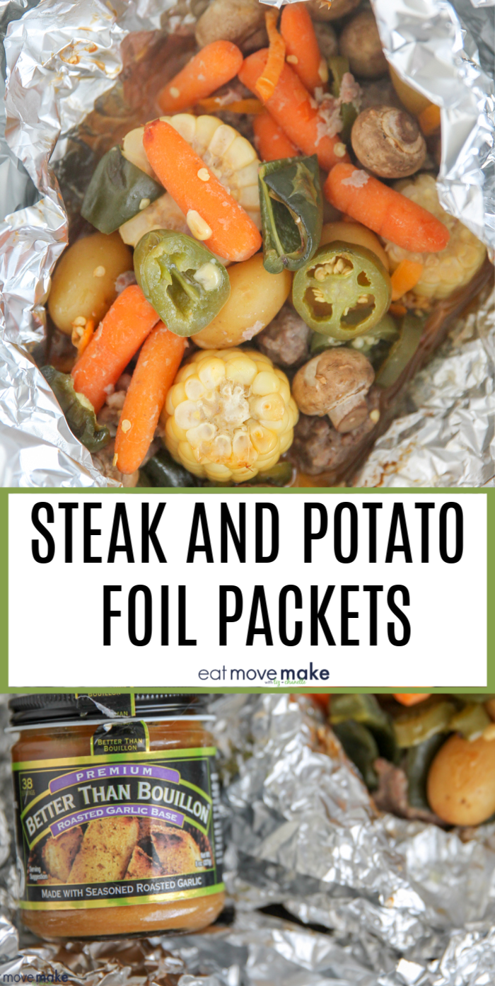 steak and potato foil packet dinners