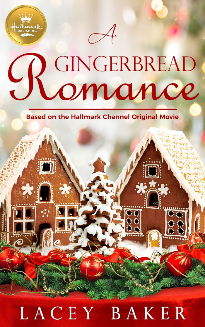 A Gingerbread Romance - Hallmark movie books - Hallmark publishing