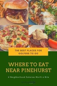 restaurants in pinehurst nc