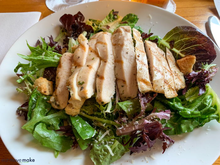 Simple Salad at Wolcott's - Southern Pines restaurants