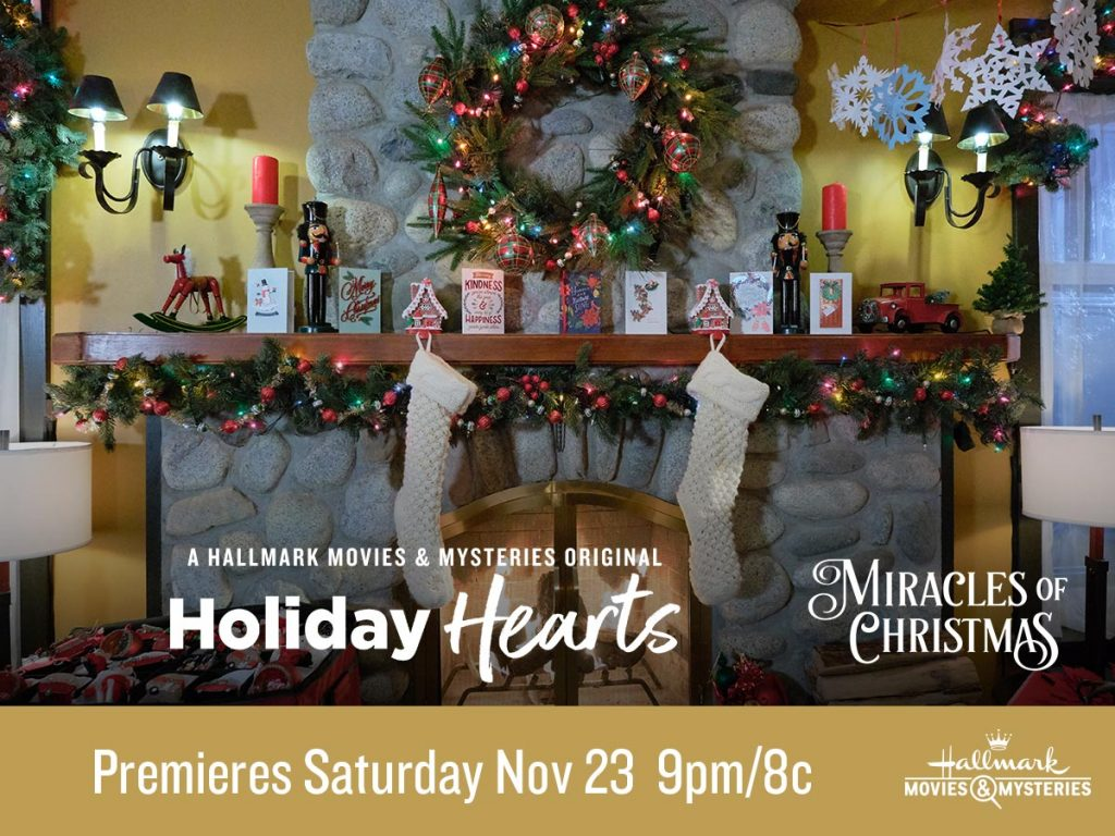 Holiday Hearts movie Christmas tree scene