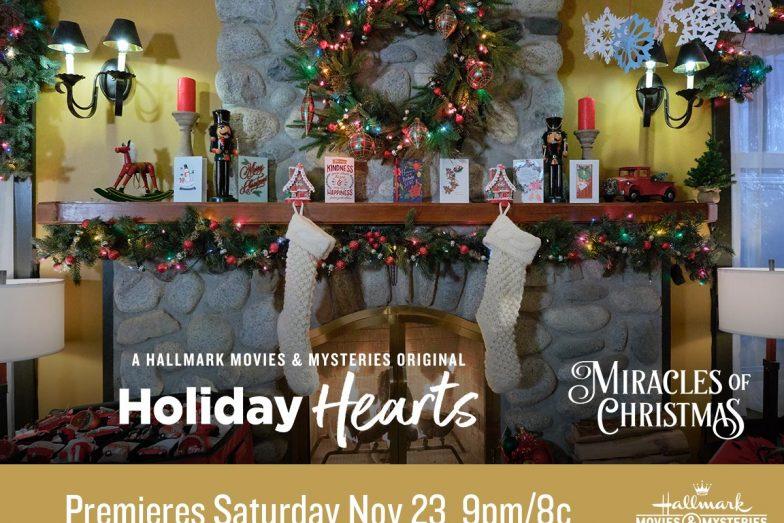 Holiday Hearts movie Christmas tree scene