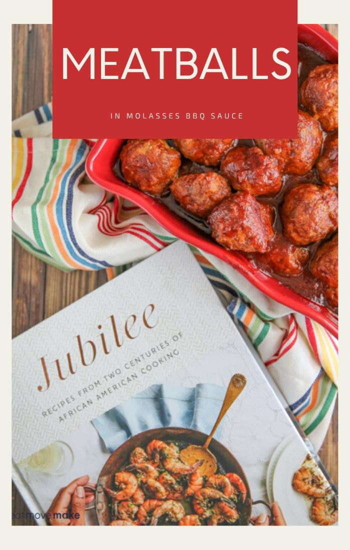 Meatballs in Molasses BBQ Sauce