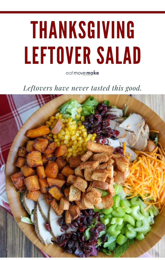Thanksgiving Leftover Salad