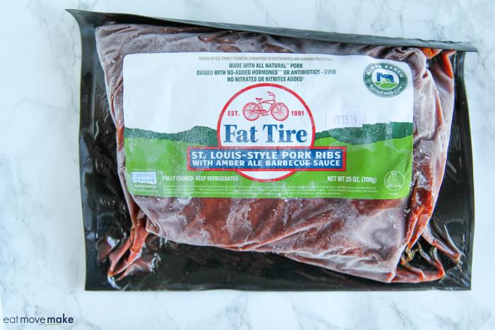 Fat Tire St. Louis-Style Pork Ribs