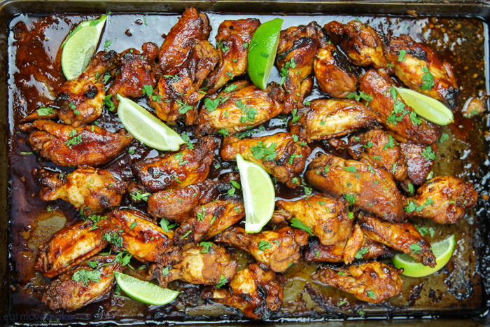 Asian inspired wings (Lala wings)