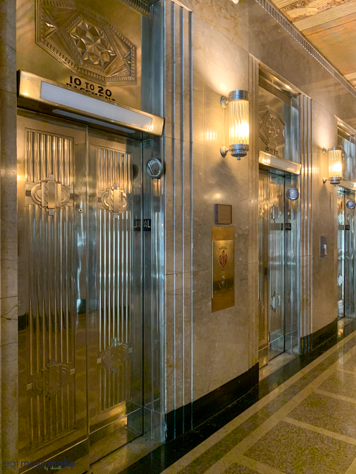 Reynolds Building elevators