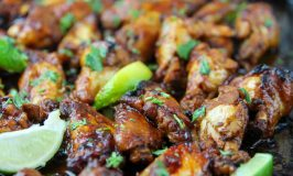 Asian-inspired wings