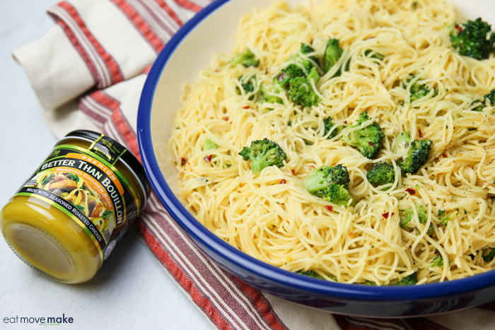 garlic broccoli pasta
