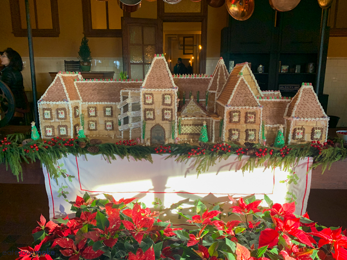 Biltmore gingerbread house