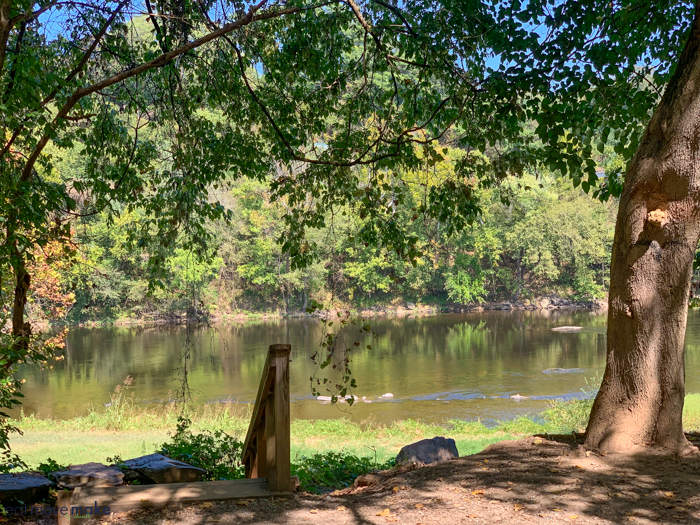 James River on Percival's Island Trail