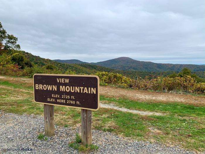 Brown Mountain Overlook - Burke County NC