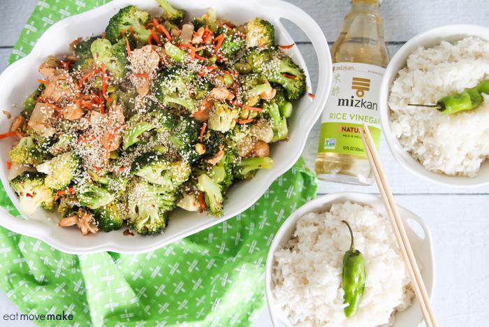 Japanese vegetable stir fry