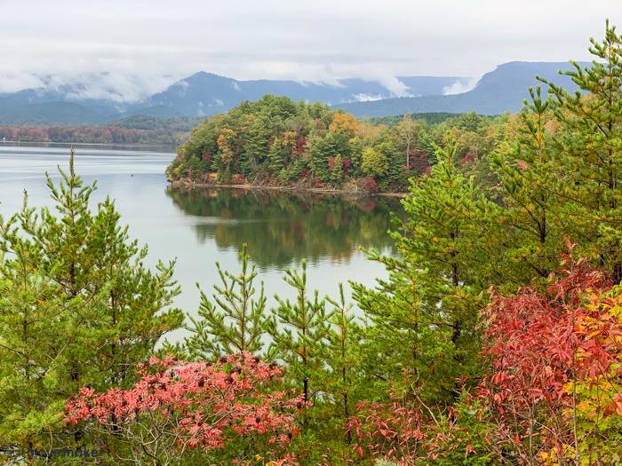 Burke County NC fall colors