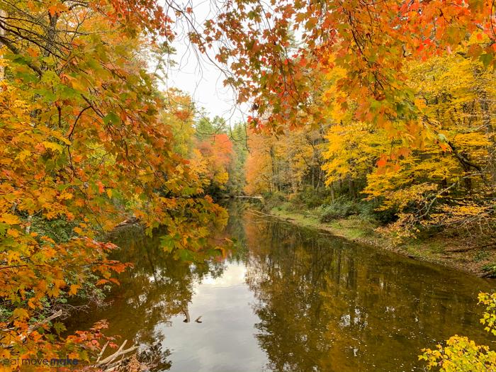fall in Burke County NC