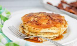 smoked ham pancakes recipe
