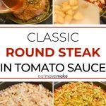classic round steak in tomato sauce