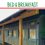 Dolittle Station Sleeper Car Bed and Breakfast presidential suite